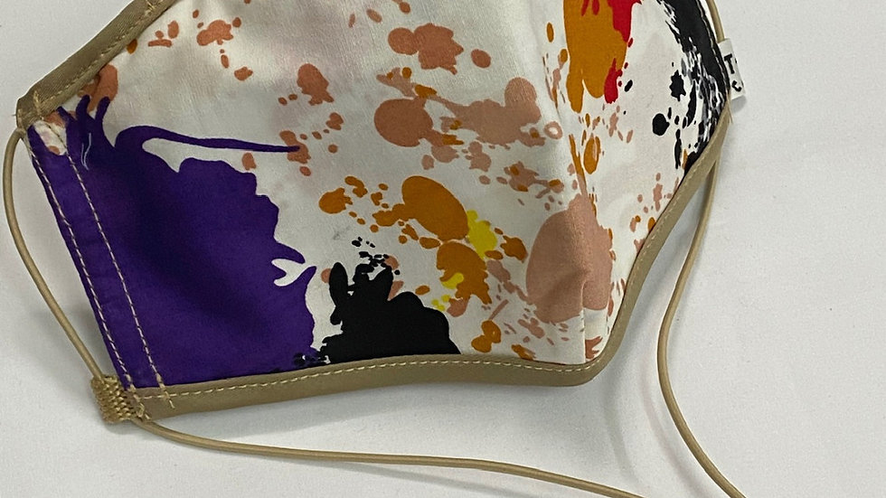 Beige Trim Paint Splatter (Design Varies)