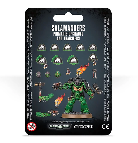 Salamanders Primaris Upgrades