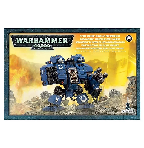 Dreadnought Ironclad Space Marine