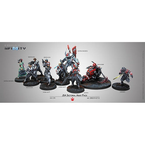 JSA (Sectorial Army Pack)