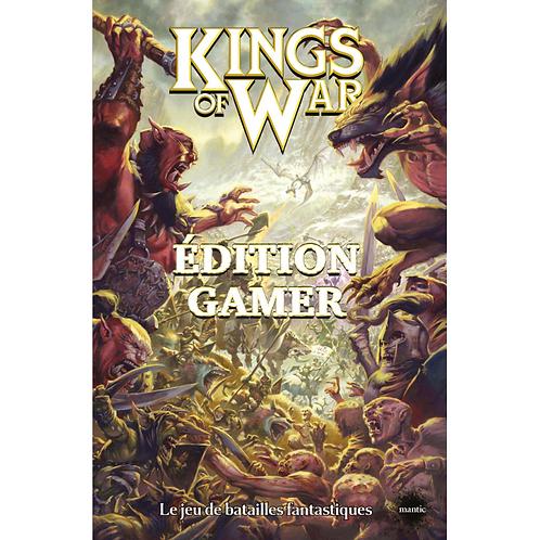 Livre Kings of War édition Gamer