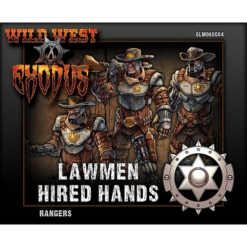 Lawmen Ranger Box (Hired Hands)