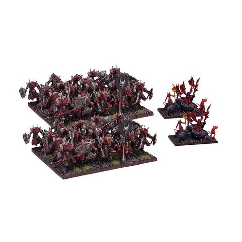 Horde d'Abyssaux mineurs / Porte-flammes (40 figurines)