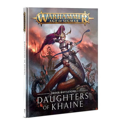 Battletome: Daugthers of Khaine (Anglais)