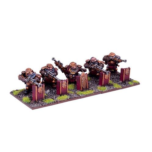 Tireurs d'élite nains (5 figurines)