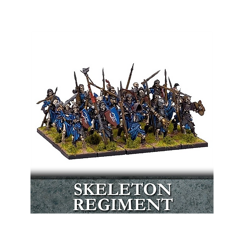 Régiment de squelettes morts-vivants(20 figurines)