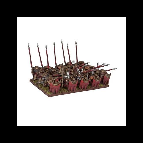 Régiment de Bastions nains (20 figurines)