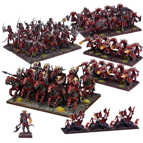 Armée Forces des Abysses (71 figurines)