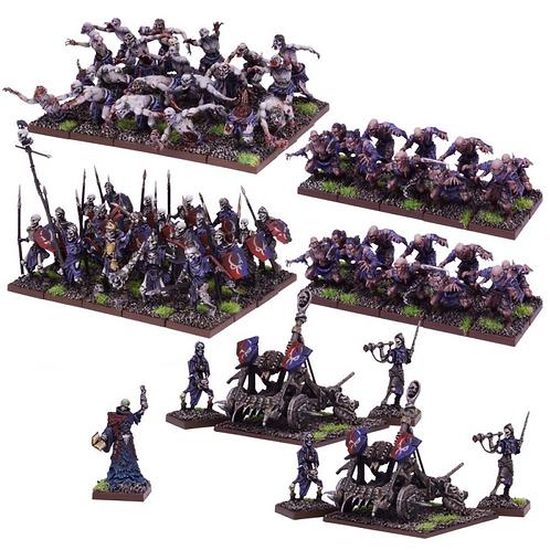 Armée de mort-vivants (67 figurines)