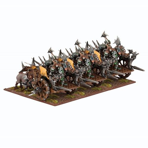 Régiment de chariots de guerre orques (3 figurines)