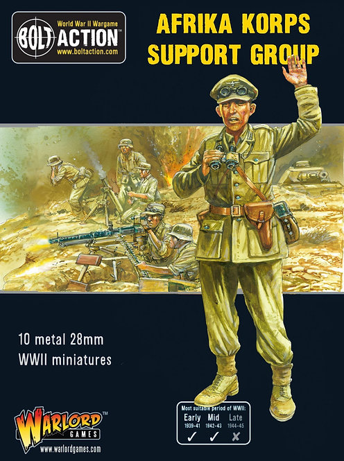 Afrika Korps Support Group (HQ, Mortar & MMG)