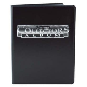 Portfolio Collector noir - 180 cartes A4