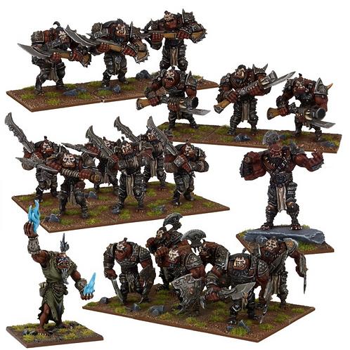 Armée Ogre (20 figurines)