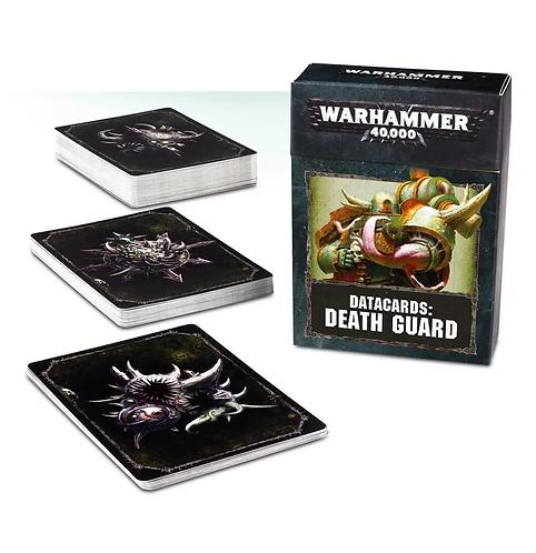 Datacards: Death Guard (Anglais)