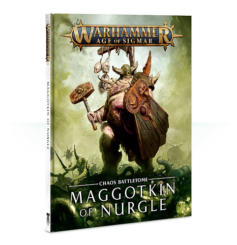 Battletome: Maggotkin of Nurgle (Anglais)