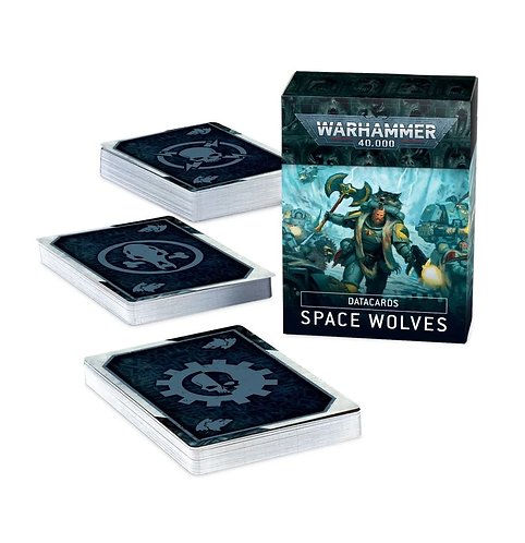 Datacards: Space Wolves (anglais)