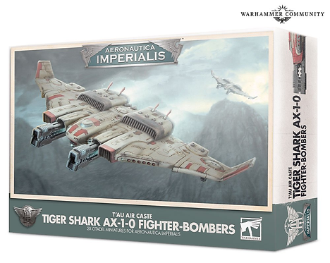 T'au Air Caste Tiger Shark AX-1.0 Fighter-Bomber