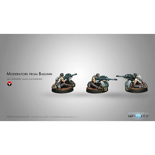 Moderators from Bakunin (Multi Sniper Rifle)