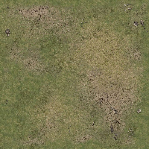 Grassy Fields Gaming Mat 2x2 v.2