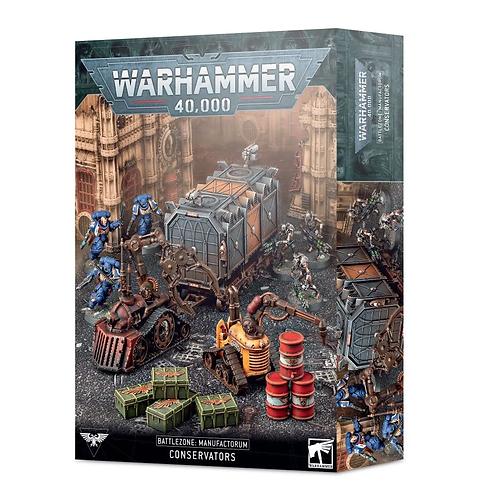 Battlezone Manufactorum: Conservateurs