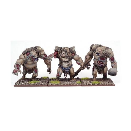 Trolls zombies (3 figurines)