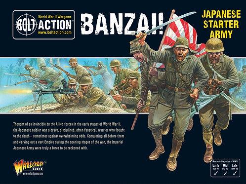 Banzai! Japanese Starter Army