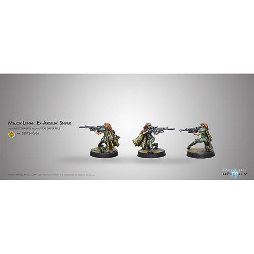Major Lunah, Ex-Aristeia! Sniper