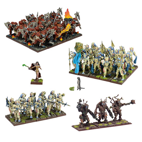 Armée Forces de la Nature (54 figurines)