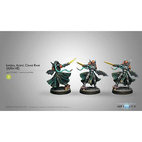 Imperial Agents, Crane Rank (Xian He)