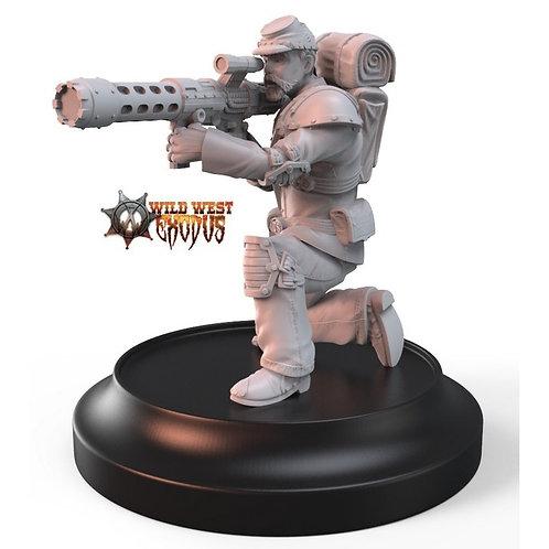 Union Trooper/Line Troop with Rocket Pod