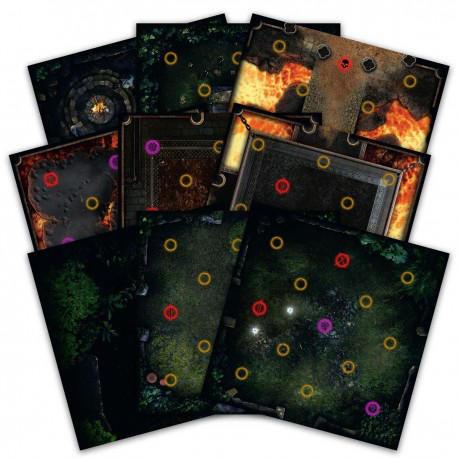 Dark Souls: Darkroot Basin and Iron Keep Tile Set
