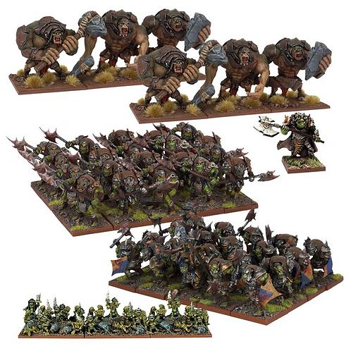 Armée Orque (50 figurines)