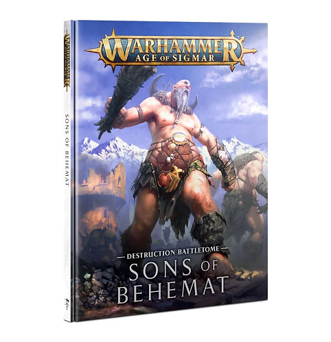 Battletome: Sons of Behemat (Anglais)