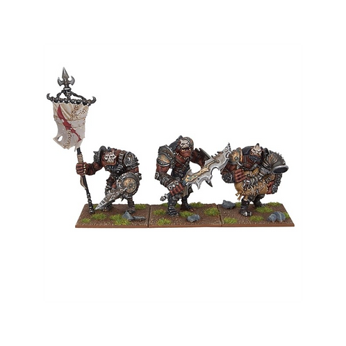 Etat major Ogre (3 figurines)