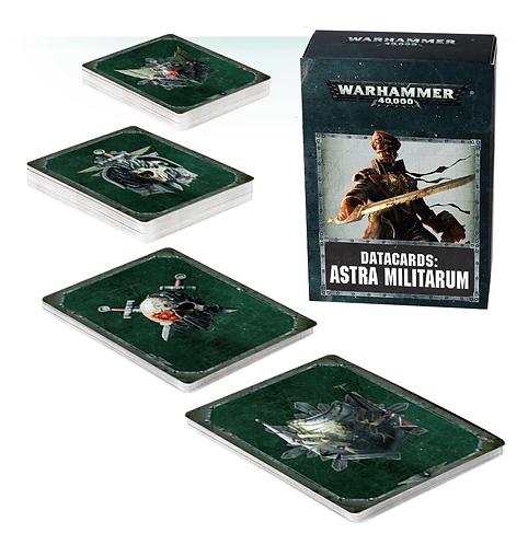Datacards: Astra Militarum (Anglais)