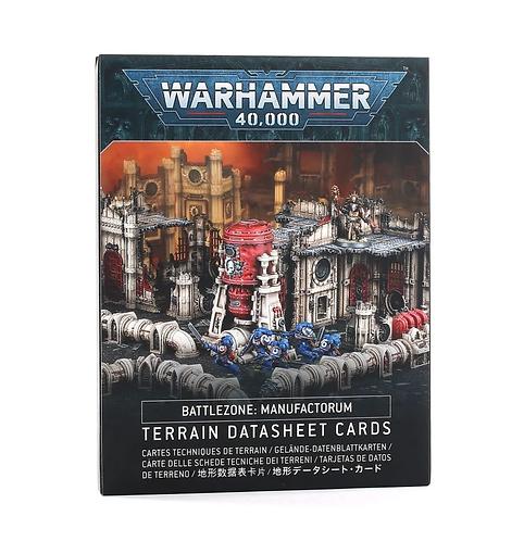 Battlezone Manufactorum: Datasheet Cards (Anglais)