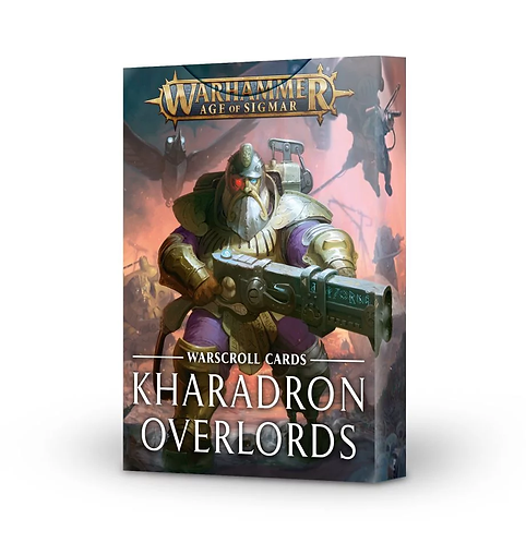 Warscroll Cards: Kharadron Overlords (Anglais)