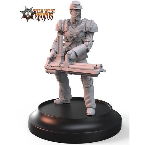 Union Trooper/Line Troop with [Liberty] Gatling Gun
