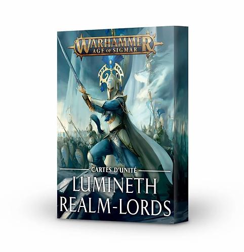 Cartes d'Unités: Lumineth Realm-Lords