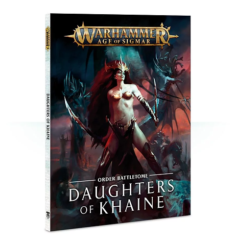 Battletome: Daughters of Khaine (Anglais)