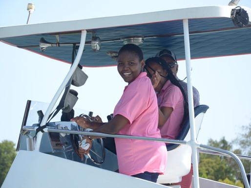 Grade 8's Boat Trip