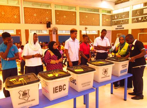 Mudzini School's First Election Day