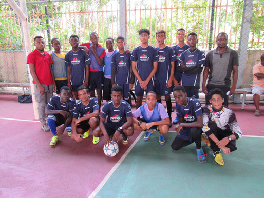 Six-Aside Football Tournament at Light International School