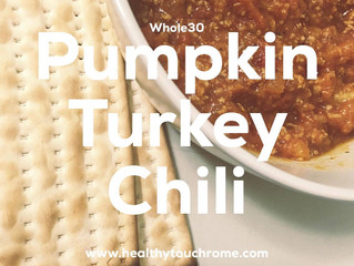 Whole30 Pumpkin Turkey Chili