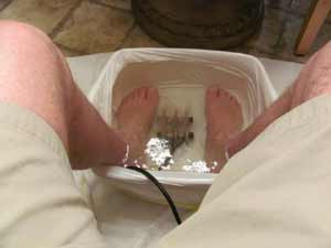 Ionic Detoxification Footbath