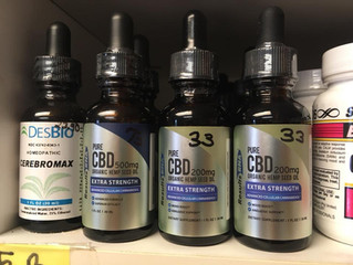 CBD Oil Available at Healthy Touch!
