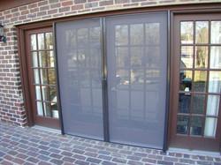 Standard Double Door - Screen Closed