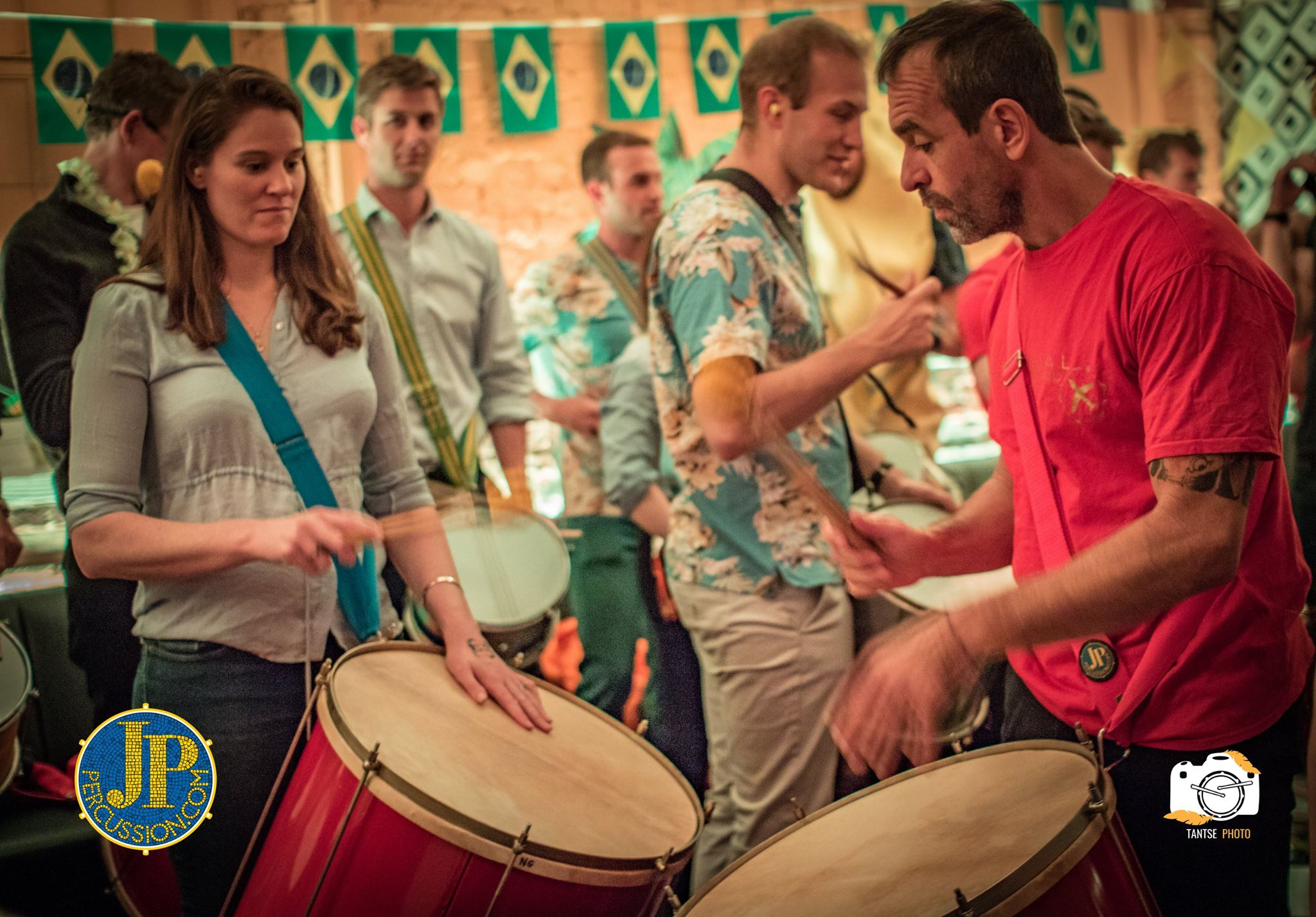 Our top team of instructors will guide your group through the easy to learn rhythms