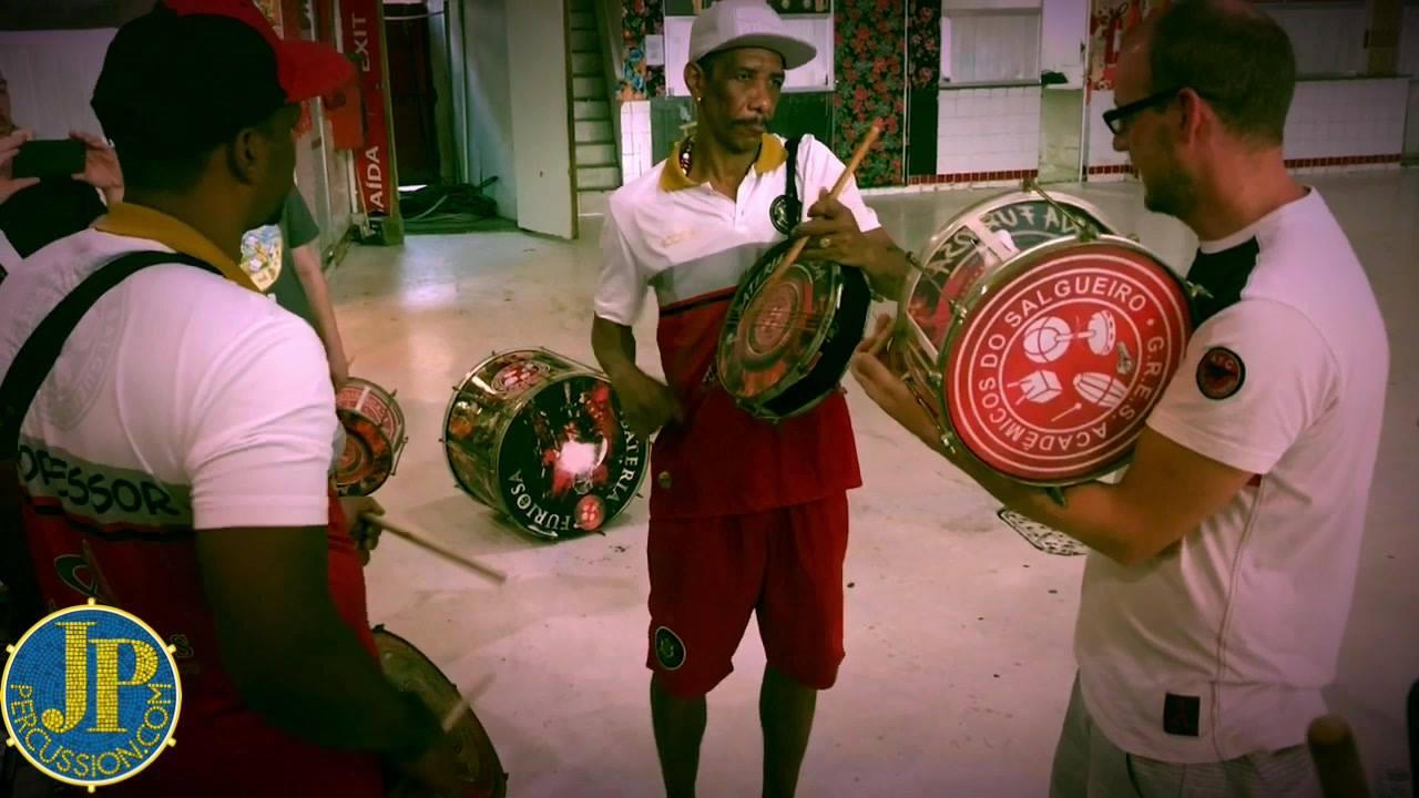 Top vibes playing with these heavy weights from G.R.E.S. Acadêmicos do Salgueiro - Original in Rio. Oficina de Percussão Mestre Marcão  #edbrio2017 #jppercussion #escoladebateria