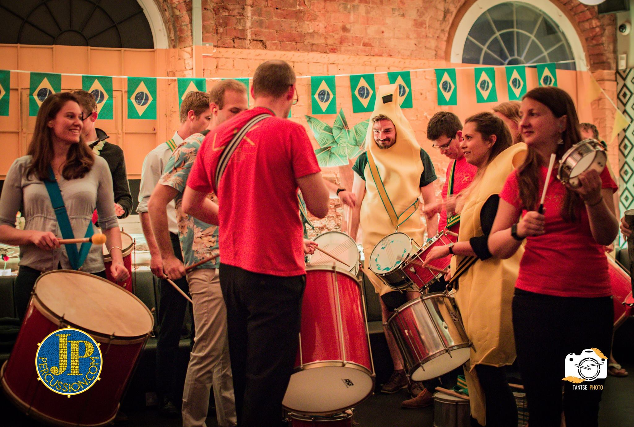Drummers getting groovy